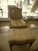 Accent Chair w/ Ottoman\